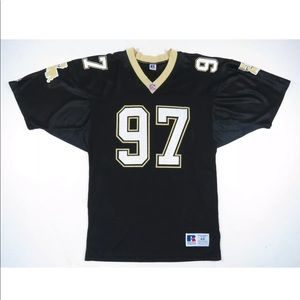 Vtg 90s New Orleans Saints Russell Athletic Jersey